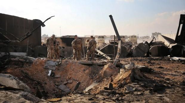 Saldırı sonrası ABD üsleri ağır hasar almıştı.