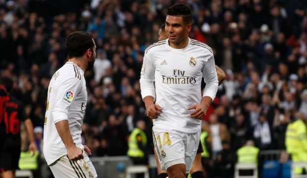 Real Madrid, Sevilla'yı Casemiro ile geçti