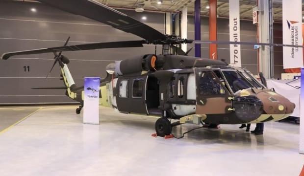 T70 helikopterleri için ilk teslimat yapıldı!