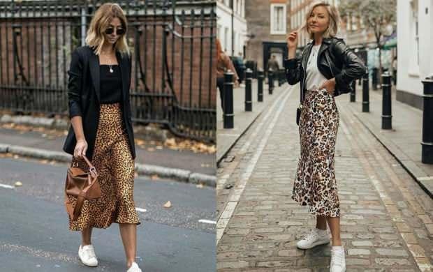 leopar desenli elbise hangi renk ayakkabı giyilir