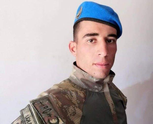 Tel Abyad'da ki hain saldırıda şehit düşen Piyade Uzman Onbaşı Mustafa Alpaklı.
