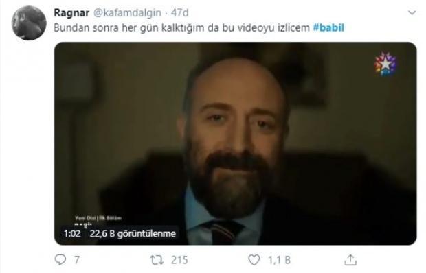 Babil dizisi sosyal medya yorumları