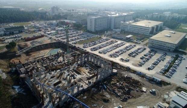 Yeni Camii'nin yüzde 35'i tamamlandı