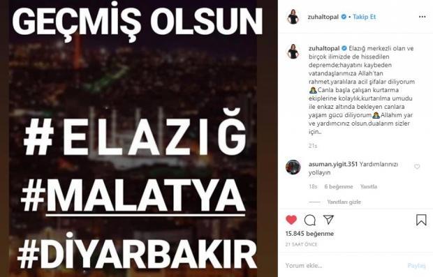zuhal topal instagram