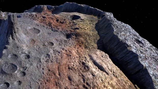 Asteroid üzerindeki kaynak tüm insanlara eşit olarak pay edilirse kişi başına 93 trilyon dolarlık bir miktar düşüyor.