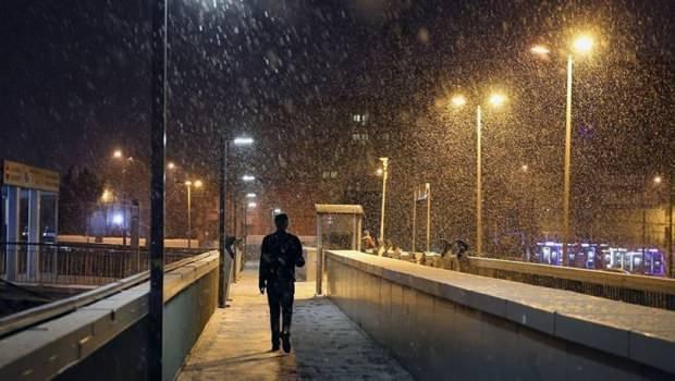 Son dakika - İstanbul kar yağışı- İstanbul hava durumu
