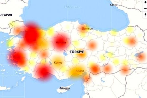 Türkiye'de internet neden çöktü?