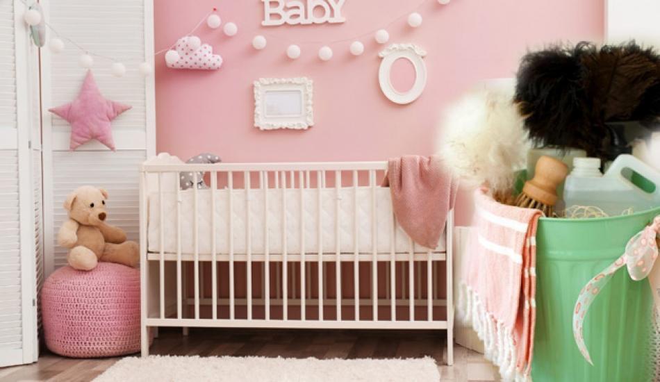 Bebek odası nasıl temizlenir? Bebek odası nasıl temiz tutulur?
