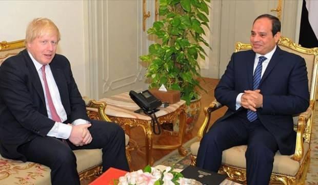 Boris Johnson ve Sisi'den kritik Libya görüşmesi