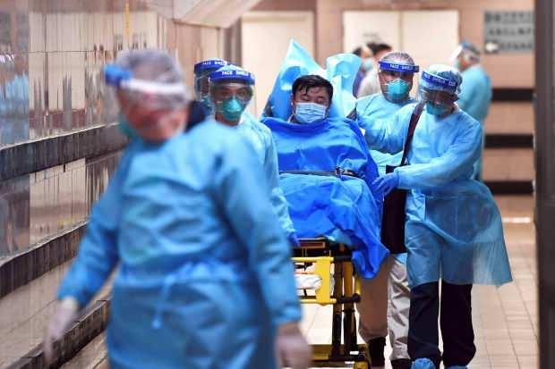 Hastaneler ölümcül virüs vakasıyla doldu taştı....