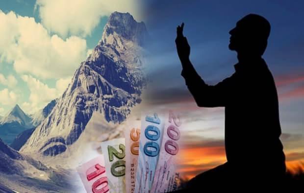 Dağ kadar borcu ödeme duası