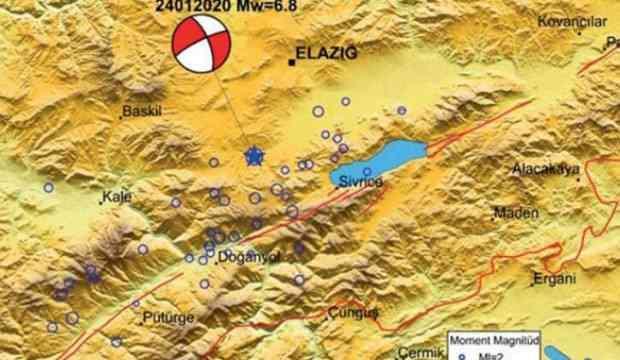 Elazığ depremi ön inceleme raporu yayımladı