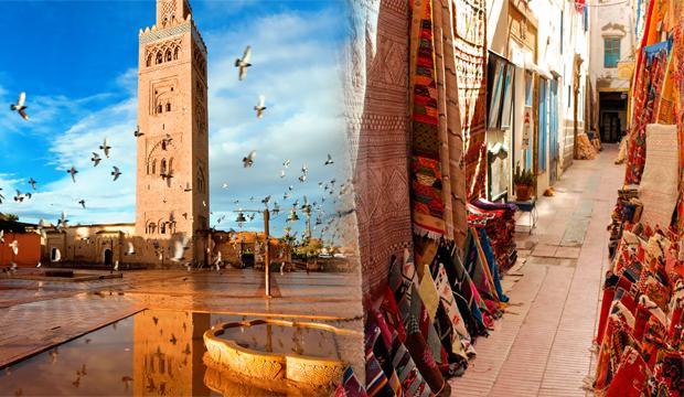 Fas turistik yerler bakımından zengin ve kadim topraklara sahip ülke
