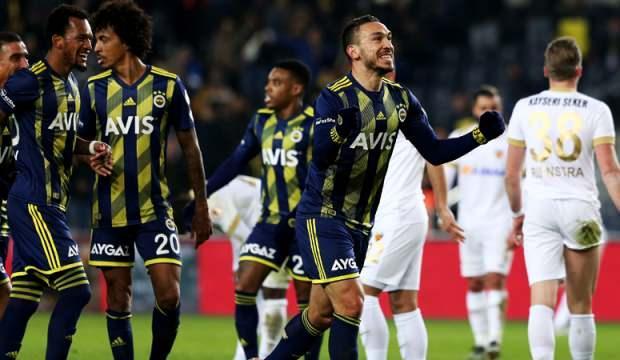 Fenerbahçe'ye çeyrek final için  45 dakika yetti!
