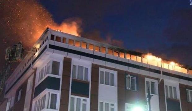 İstanbul'da korkutan yangın! Alev alev yandı