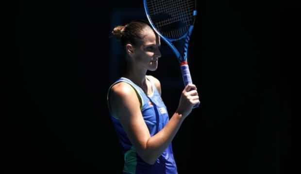 Karolina Pliskova, Avustralya Açık'a veda etti