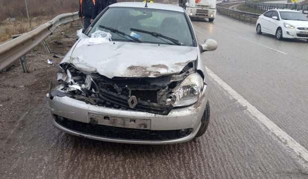 Kırıkkale'de trafik kazası: 1'i çocuk 4 yaralı