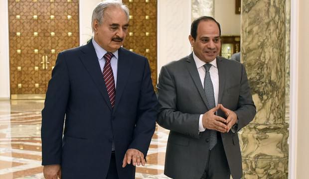 Sisi'den Hafter'e büyük şok! Harekete geçti: Libya'da 'oyuncu değişikliği'
