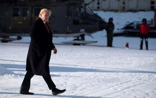 Donald Trump-Davos