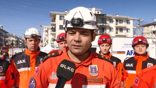 Jandarma Arama Kurtarma Bölük Komutanı Yüzbaşı Yusuf Mataracı