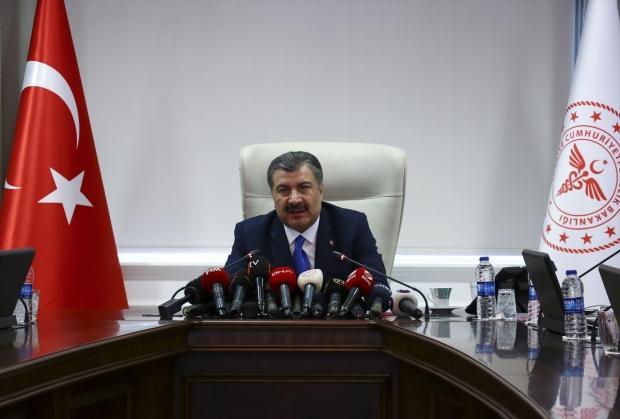 Sağlık Bakanı Fahrettin Koca....