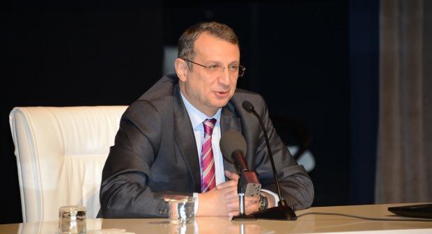 Ahmet Yesevi Üniversitesi Rektör Vekili Prof. Dr. Cengiz Tomar....