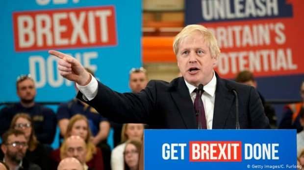 Boris Johnson'ın seçim sloganı