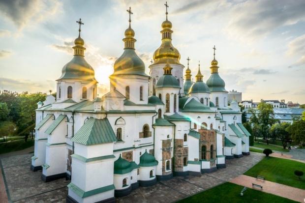 Ukrayna'da gezilecek yerler: Kiev Aziz Sofya Katedrali
