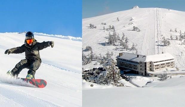 Kis Tatilinin En Ugrak Noktasi Burasi Kartalkaya Kayak Merkezi