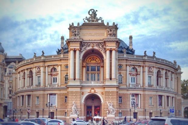 Ukrayna'da gezilecek yerler: Odessa Opera Binası