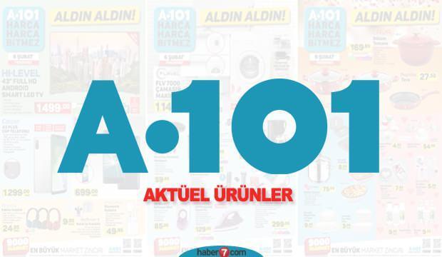 A101 7 ŞUBAT AKTÜEL ÜRÜNLER KATALOĞU!