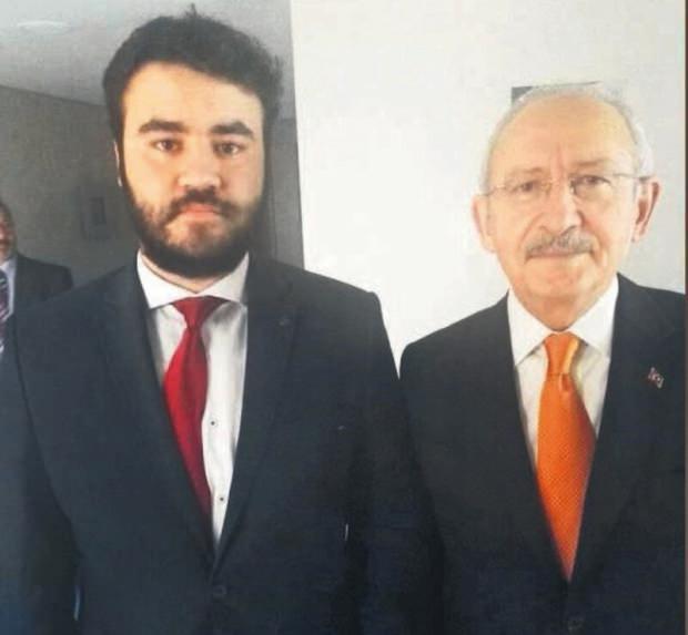 Hüseyin Fatih Tamer ve Kemal Kılıçdaroğlu....