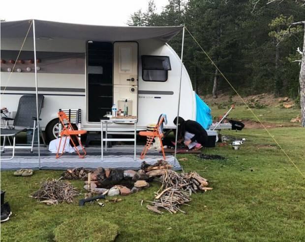 kadir doğulunun tatil için kullandığı karavanı