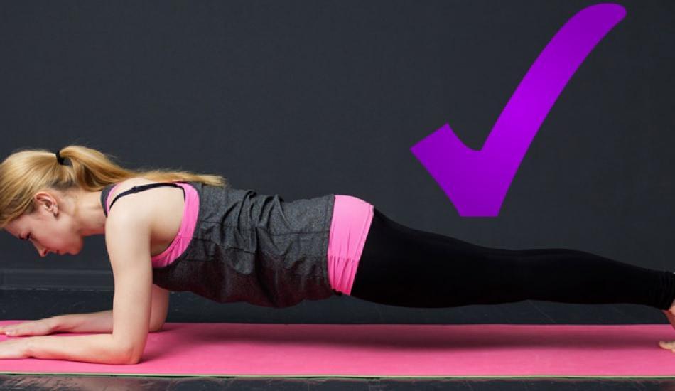 Plank hareketi ne işe yarar? Evde etkili plank hareketi nasıl yapılır? 5 dakikada karın kası