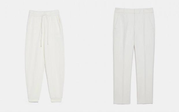beyaz pantolon kombinleri tesettür
