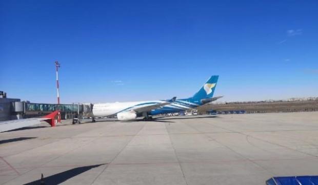 Umman Hava Yolları uçağı, Diyarbakır'a acil iniş yaptı