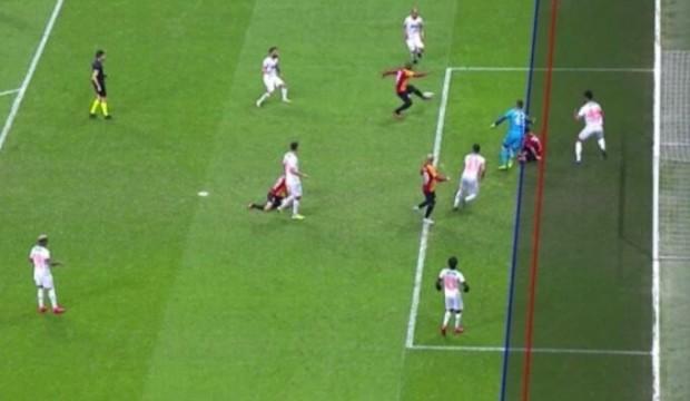 Galatasaray'ın golü ofsayta takıldı, Fatih Terim çıldırdı