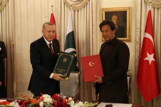Erdoğan ve Pakistan Başbakanı Imran Khan