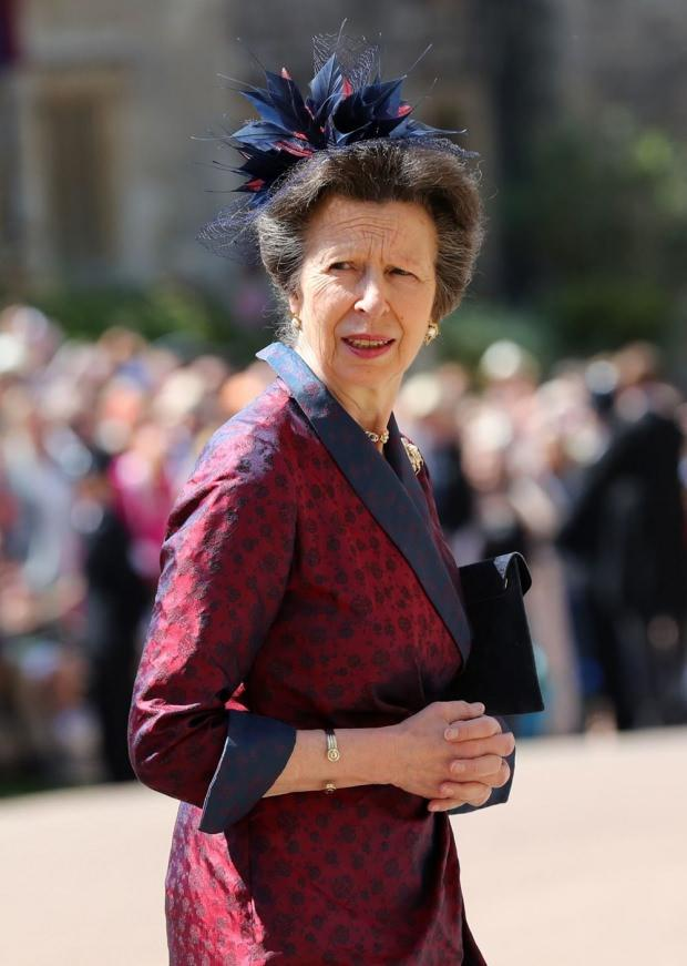 Kraliçe Elizabeth'in kızı Prenses Anne