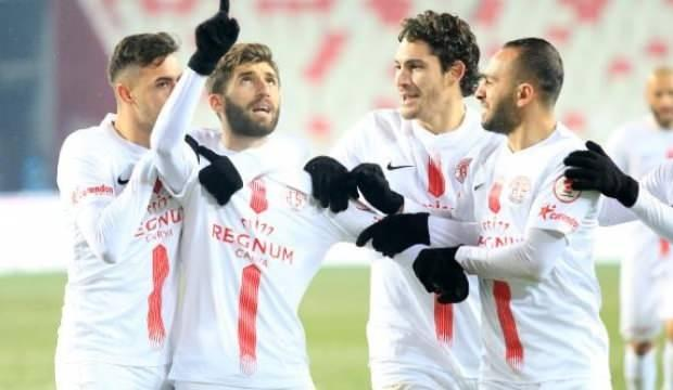 Antalyaspor evinde galibiyete hasret!