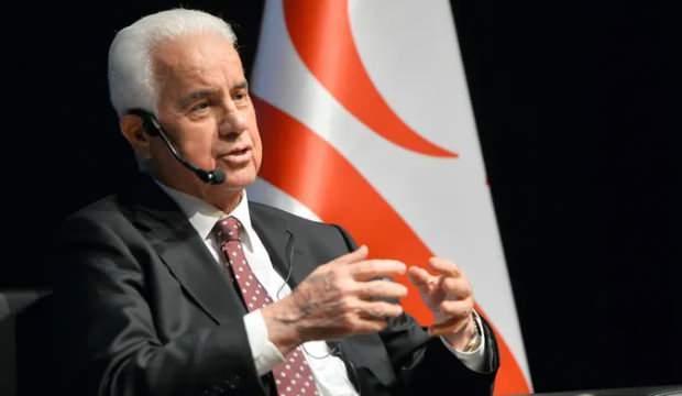 Derviş Eroğlu: Türkiye, isteseydi o gün Kıbrıs'ın tümünü alabilirdi