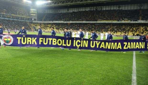 Fenerbahçe'ye pankart cezası yolda!