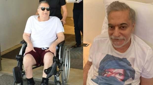 mehmet ali erbil kaçış sendromundan sonra hastaneden böyle çıktı