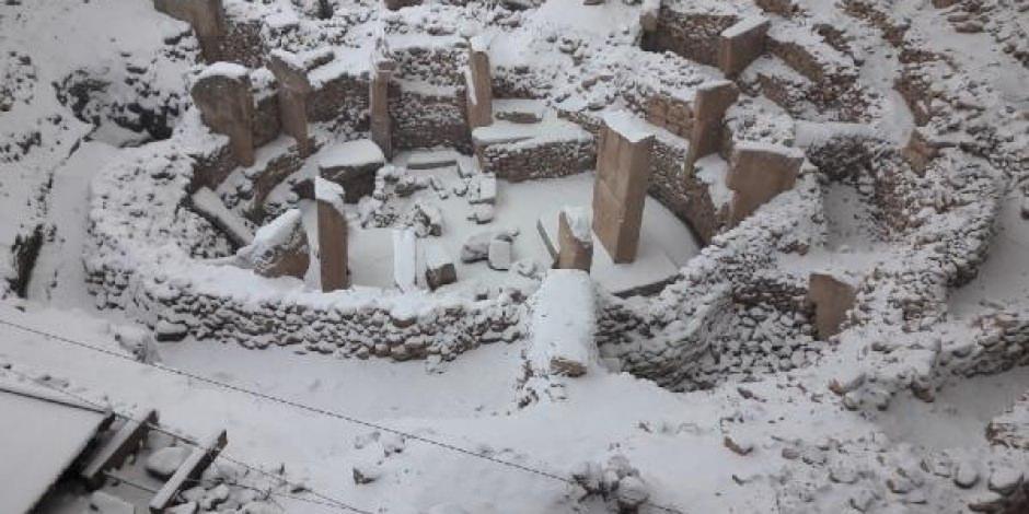 Güneydoğu'nun simgelerinde kar güzelilği