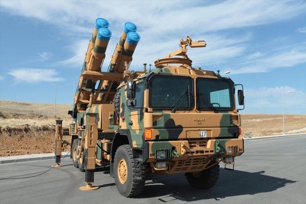 TRG-300-KAPLAN Füzesi geçtiğimiz günlerde Suriye sınırına sevk edildi...