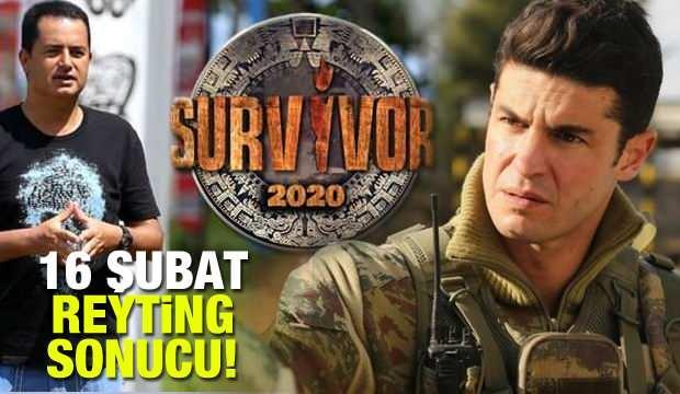 16 Şubat Pazar reyting sonuçları: Savaşçı, Survivor, Güvercin, ÇGHB 2 reyting sıralaması!