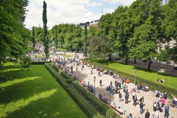 Helsinki Şehir Parkları