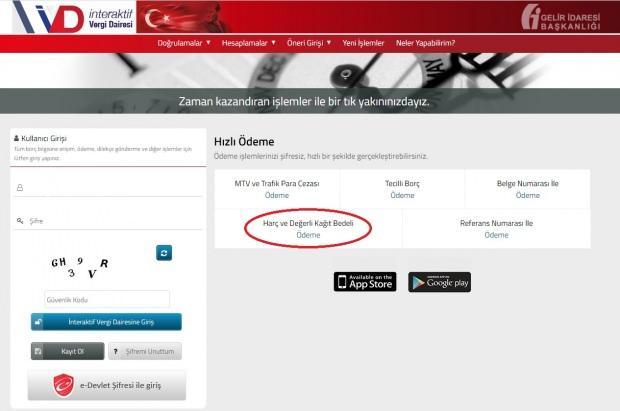 Çıkış harcı pul ücreti internetten nasıl ödeniyor?
