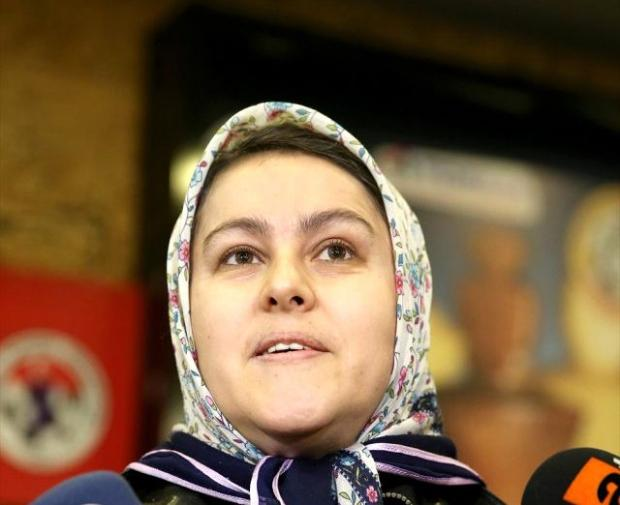 Atakan'ın annesi Hülya Kayalar.