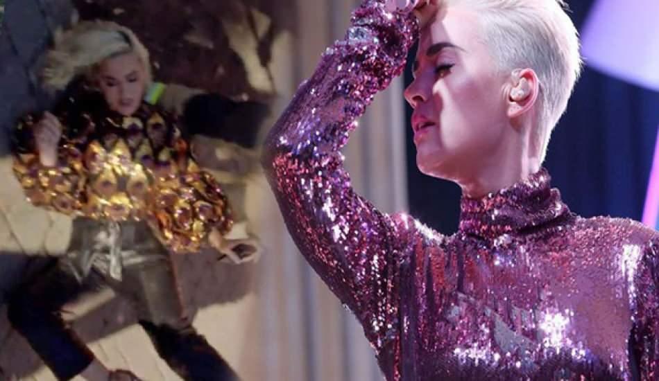 Katy Perry çekimler sırasında bayıldı!
